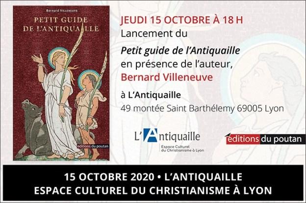 15 octobre: lancement du Petit guide de l'Antiquaille