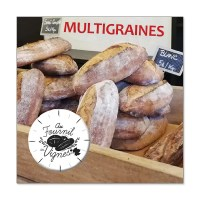 Multigraines 1 kg- Au fournil du Cuvier