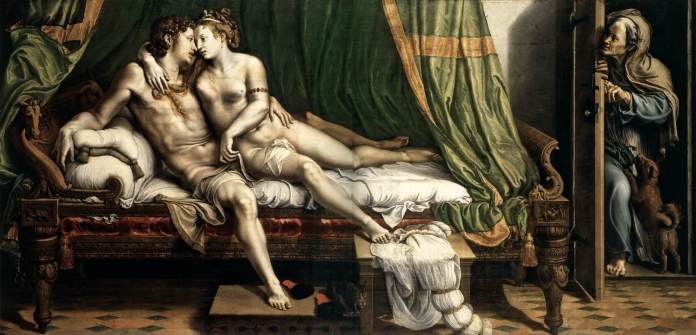 GIULIO ROMANO The Lovers c. 1525