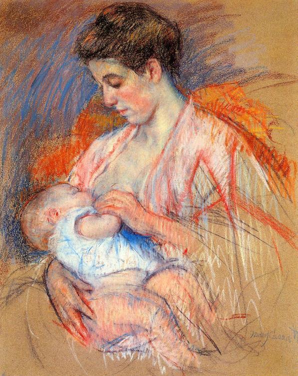 mother-jeanne-nursing-her-baby-1908