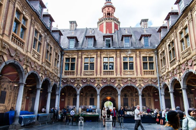 Weekend in Lille old stock exchange