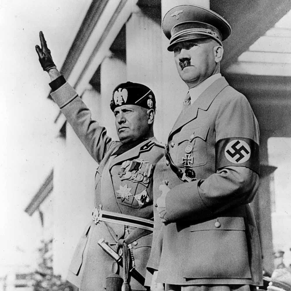 Saveznici – Hitler i Mussolini
