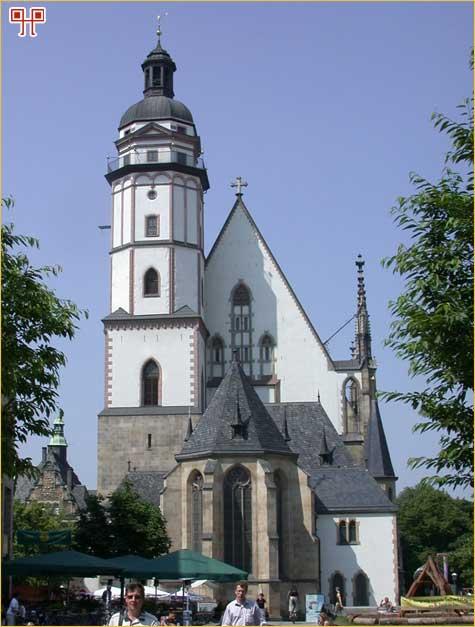 Crkva Sv. Tome u Leipzigu danas