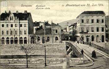 Sarajevo 1914. (Principov most)