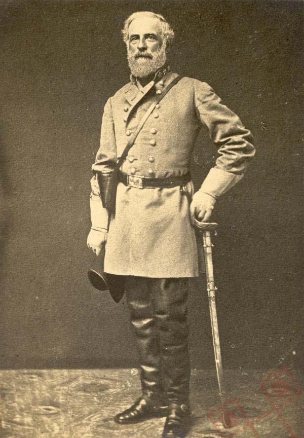 General Robert E. Lee u bojnoj uniformi