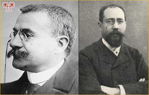 Théophile Delcassé i Maurice Rouvier