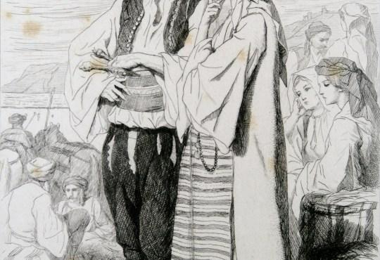 Seljaci Morlaci u okolici Splita, 1864.