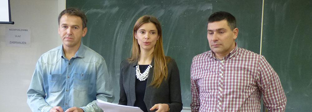 Krešimir Erdelja, Tamara Janković i Darko Benčić