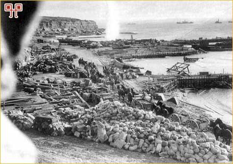 Pripreme za evakuaciju s Rta Helles, 7. siječnja 1916