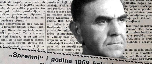 """Ante Pavelić je autor pozdrava """"za dom spremni"""""""