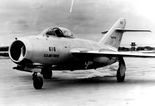 Prvi američki MiG-15