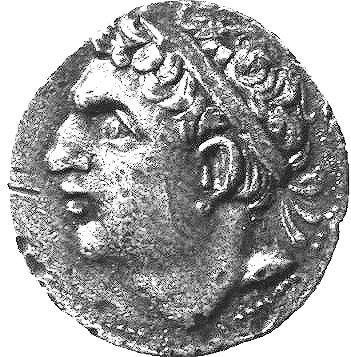Novčić s likom Hasdrubala
