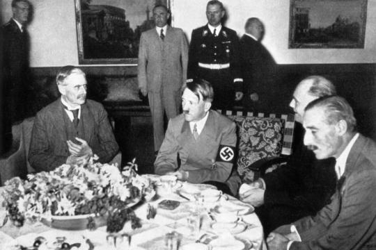 Neville Chamberlain i Adolf Hitler, sastanak u Bad Godesbergu 22. rujna 1938.