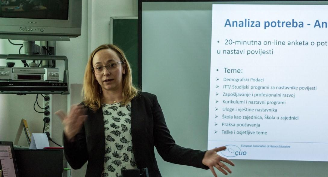Dea Marić, nova predsjednica Hrvatske udruge nastavnika povijesti