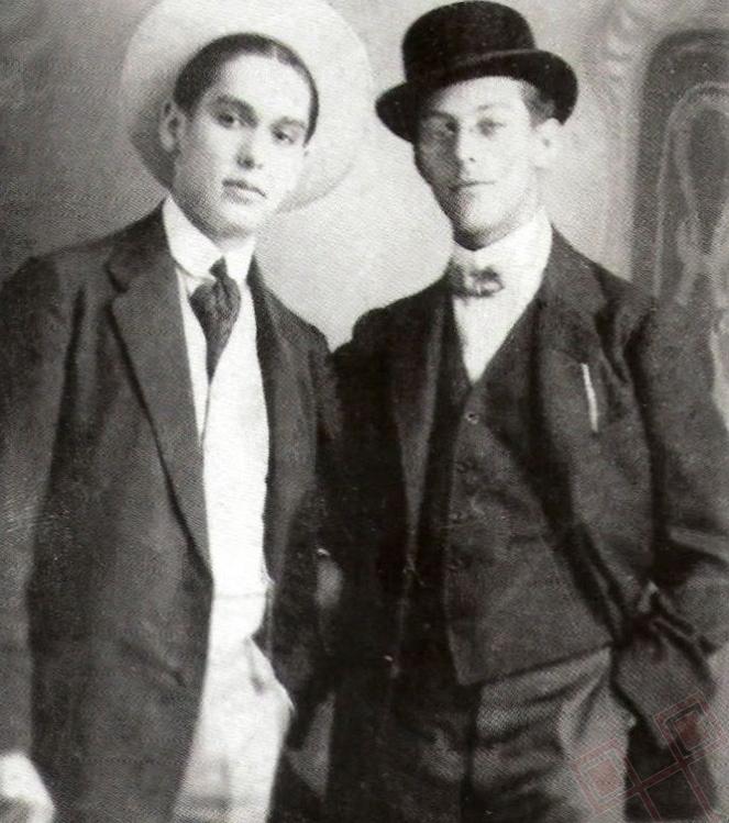 Josip Baričević i Janko Polić u Budimpešti 1909. godine