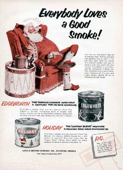 """Djed Božićnjak poručuje """"Svi vole dobar dim (cigaretu)"""""""