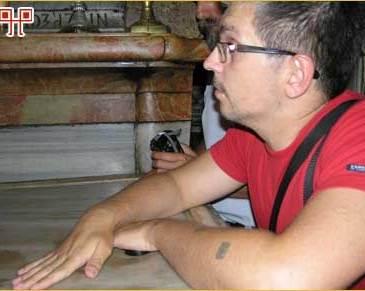 Branimir Bunjac u Jerusalemu