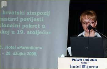 Organizatorica simpozija Marijana Marinović je otvorila simpozij
