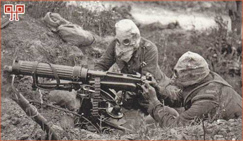 Rat je bio razoran zbog novih oružja koja su se pojavila, posebno strojnica