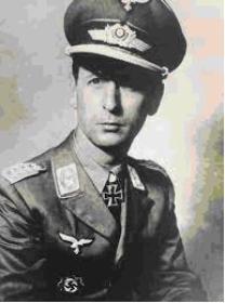 """Pukovnik Wilhelm Schmalz, zapovjednik KG """"Schmalz""""."""
