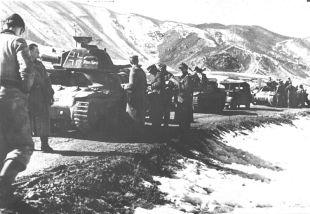 oklopni element 7. SS divizije za operacije Weiss