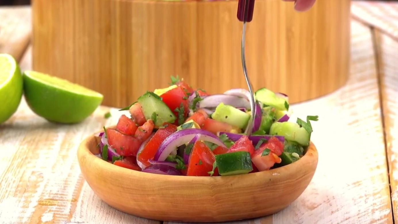 Салат с авокадо (3555) | Povkusu.com