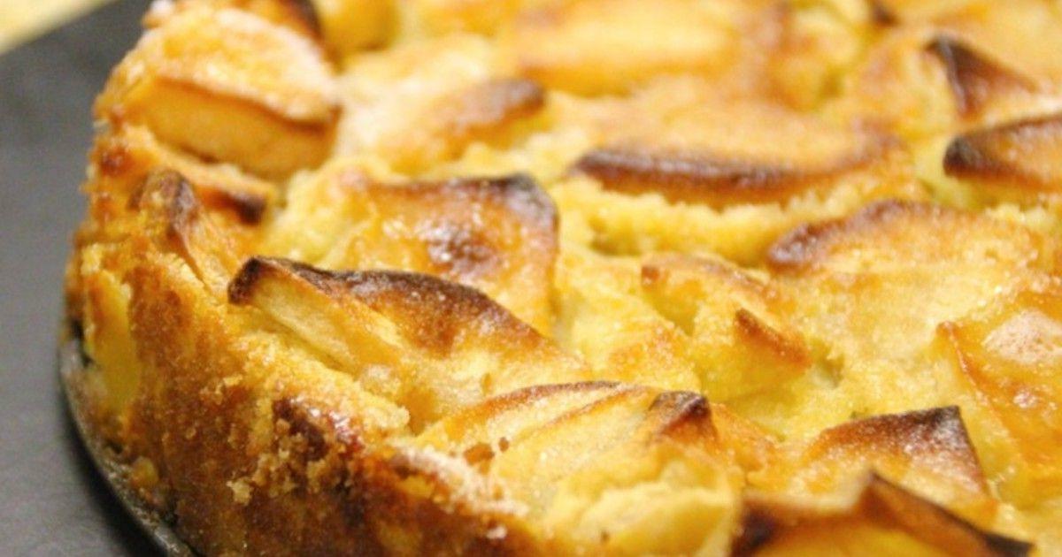 Шарлотка на кефире в духовке (4323) | Povkusu.com