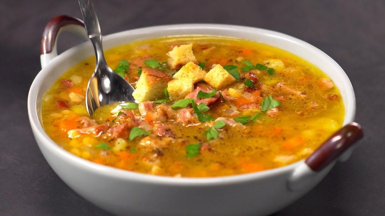 Гороховый суп со свиными ребрами (5461) | Povkusu.com