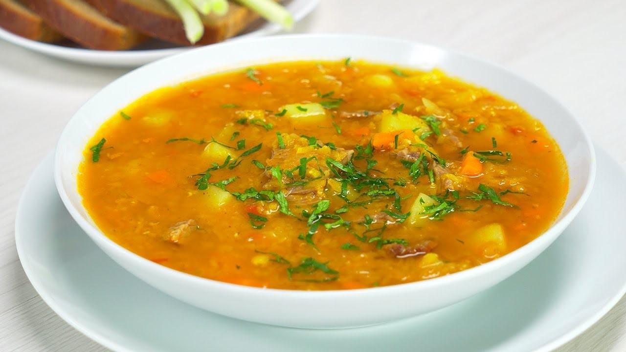 Чечевичный суп с мясом (5679) | Povkusu.com