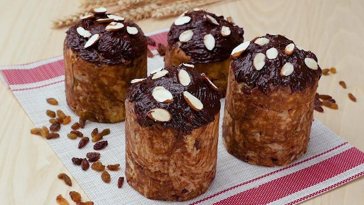 Шоколадный кулич (5577) | Povkusu.com