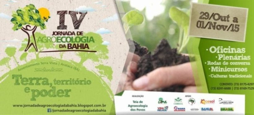 IV Jornada de Agroecologia da Bahia