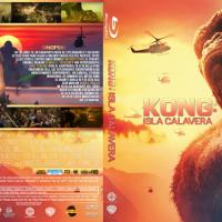 Kong La isla calavera (2017) Cover Box Blu-ray R4 By Powafulimpak