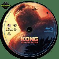 Kong Isla Calavera (2017) Label Blu-ray R4 v21231