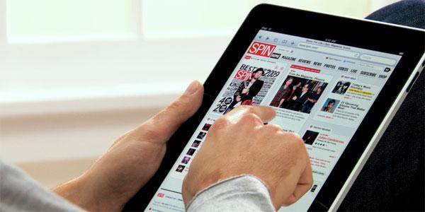 iPad Spin