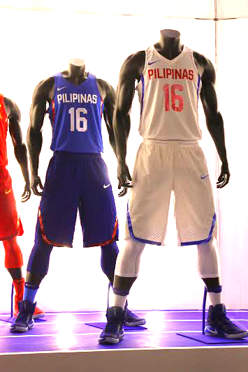 34cb46626f68 Nike unveiled the 2016 Gilas Pilipinas National Team Kits that they will be  wearing during the Olympic Qualifiers in Manila later this year and  hopefully