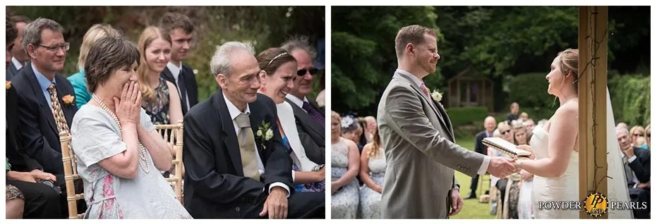 Paschoe house wedding ceremony vows