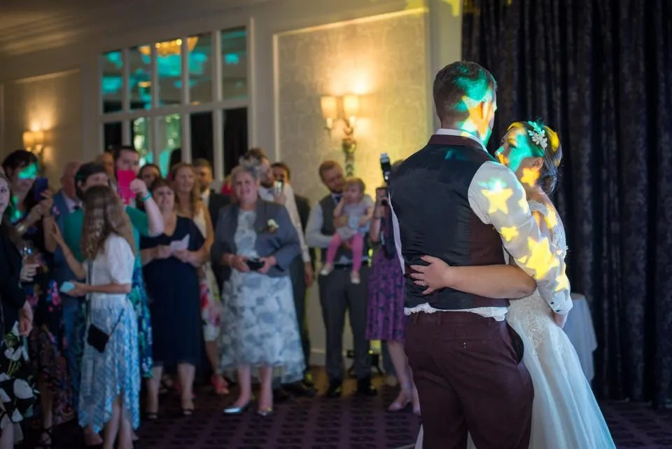 Wedding first dance at Bailbrook House in Bath
