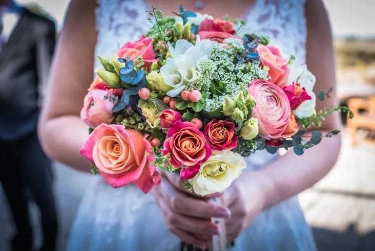 Bridal bouquet at Cumberwell Park wedding venue