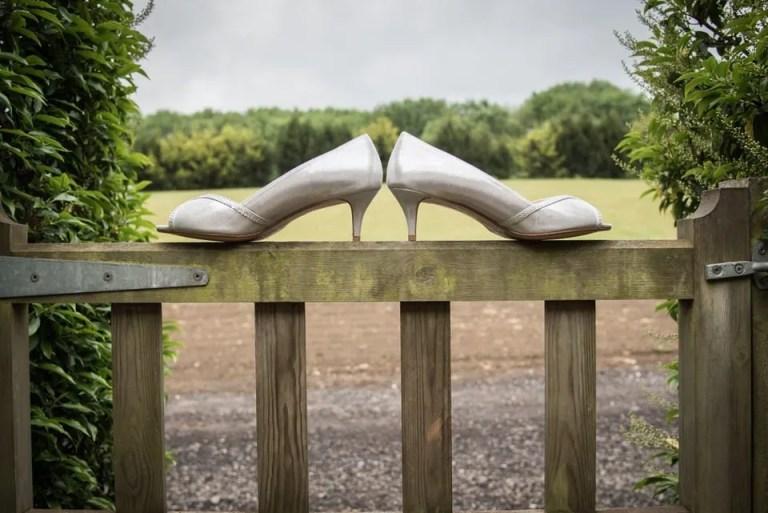 Cumberwell Park wedding shoes