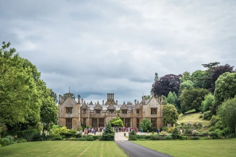 Weddings at Dillington House in Somerset