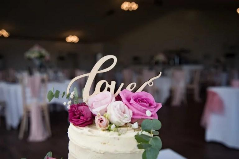 Eastwood Park wedding cake