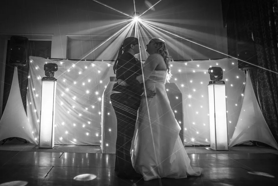 Bride and Groom first dance on Their Wedding Day at Leigh Court in Bristol