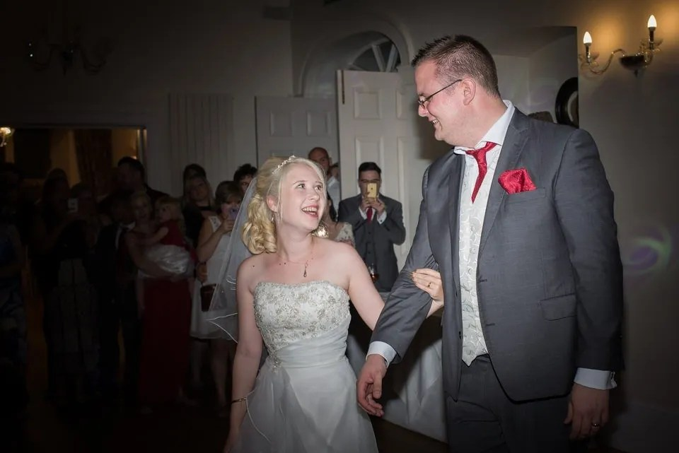 Wedding first dance at Old Down Manor in Bristol