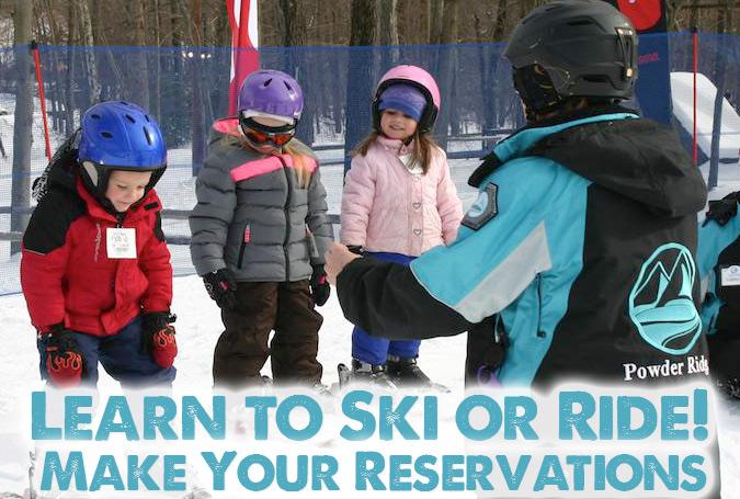 Learn to Ski or Ride at Powder Ridge