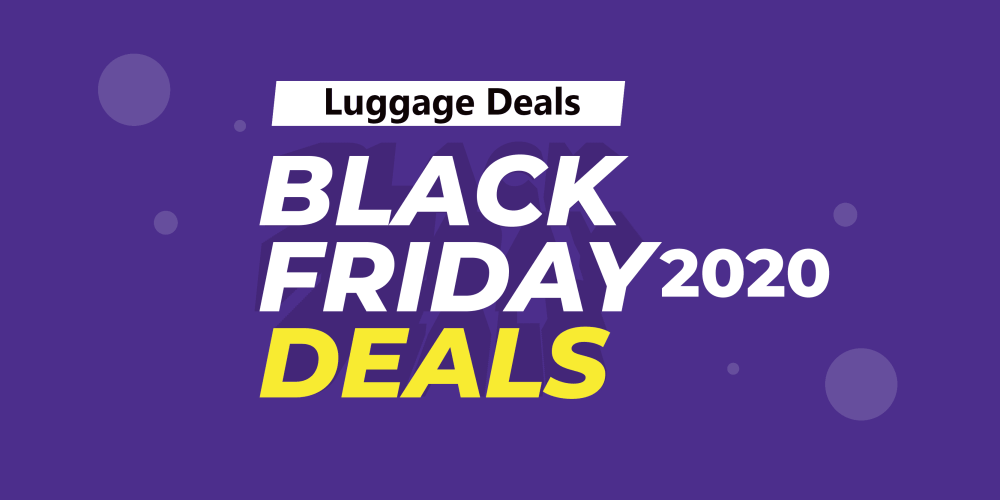 Luggage Black Friday Deals(2020) On Amazon