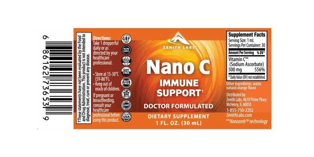 Nano C Immune Support dosage