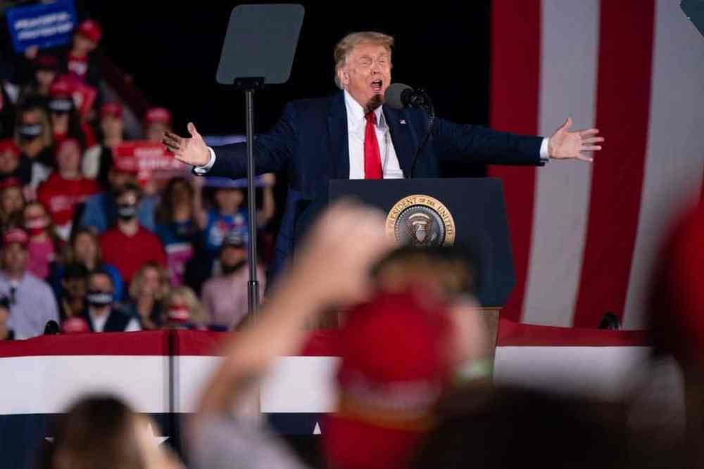 Trump Vows At Georgia Rally: Win Back The White House