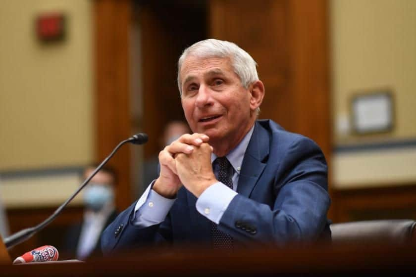 """""""Liberated"""", Says Fauci As He Is Not Suppressed Anymore By Trump"""