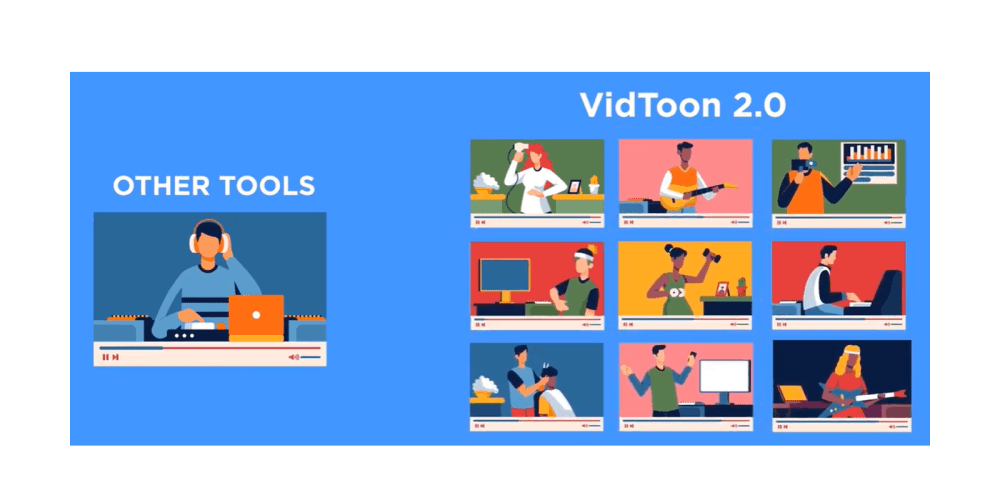 Vidtoon 2.0 benefits
