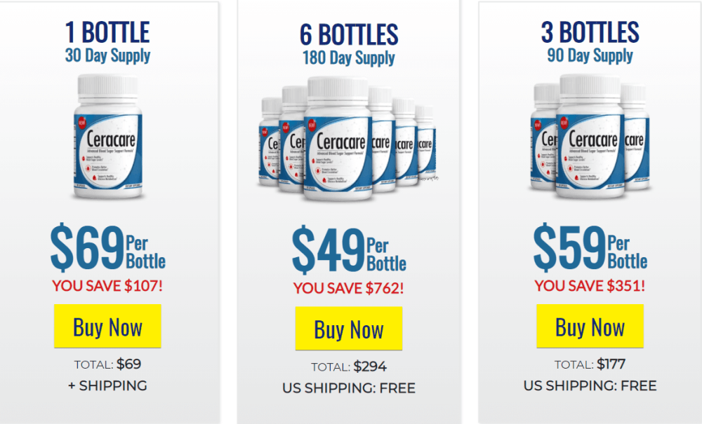 cer care supplement pricing